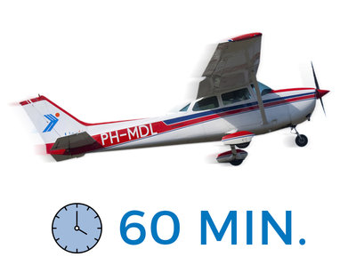 Trial lesson with 60 minutes to fly