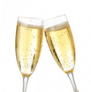 1 Champagne glas